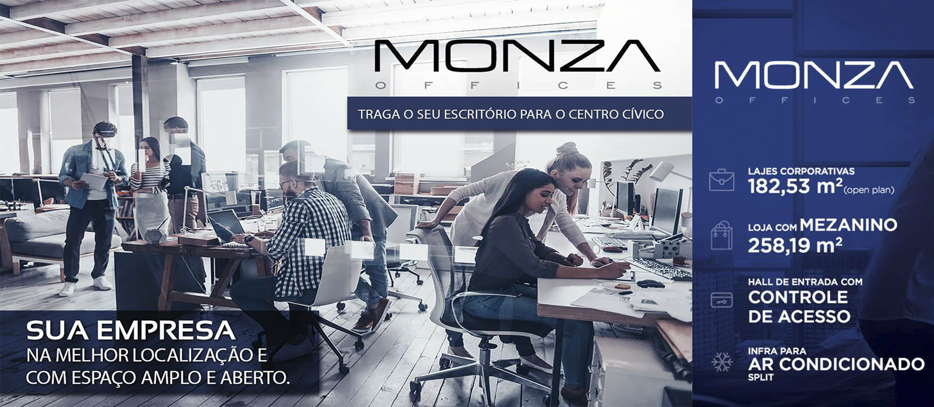 Banner Monza Offices